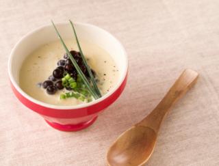 タピオカ入り! 料理研究家が教える、美肌とむくみ改善に効く「豆腐ととうもろこしの冷たいスープ」