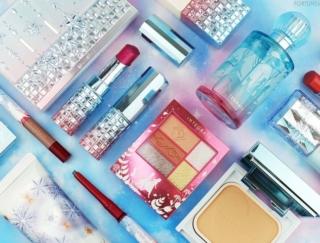 《スノービューティー&インテグレート&マキアージュ》「アナと雪の女王2」限定デザインのコスメが10/21〜発売!アナとエルサのような個性輝くプリンセスに♡
