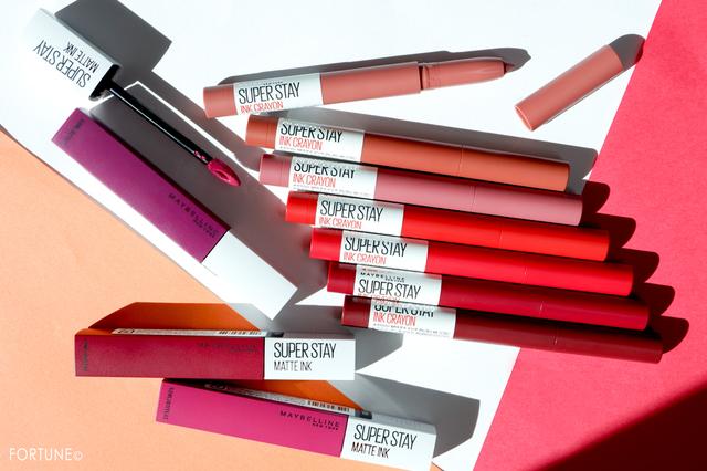メイベリンから2019秋冬新作「SPステイ インク クレヨン」全7色と「SPステイ マットインク」限定3色発売!鮮やかなマットリップをレビュー