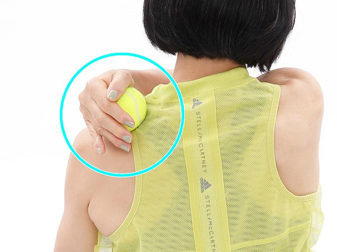肩甲骨の内側リリース