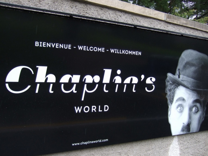 チャップリンワールドの外観