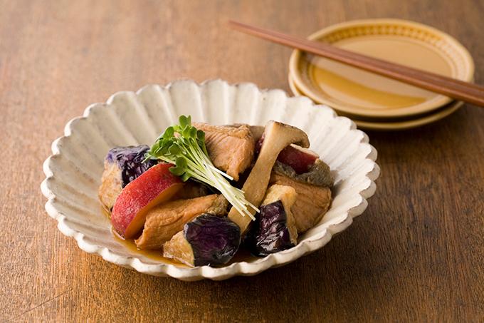 鮭と秋野菜の南蛮漬け