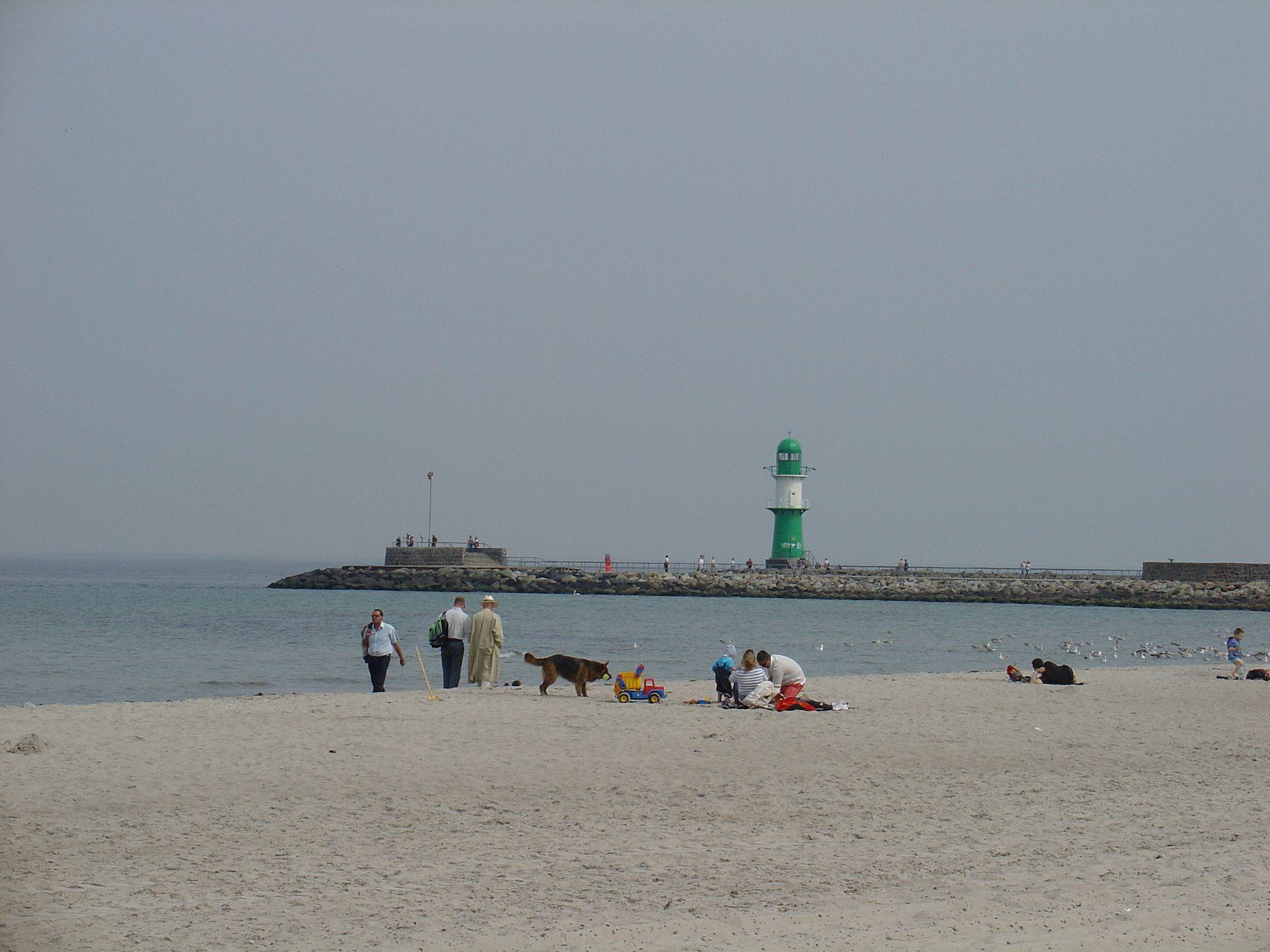 バルト海のビーチ