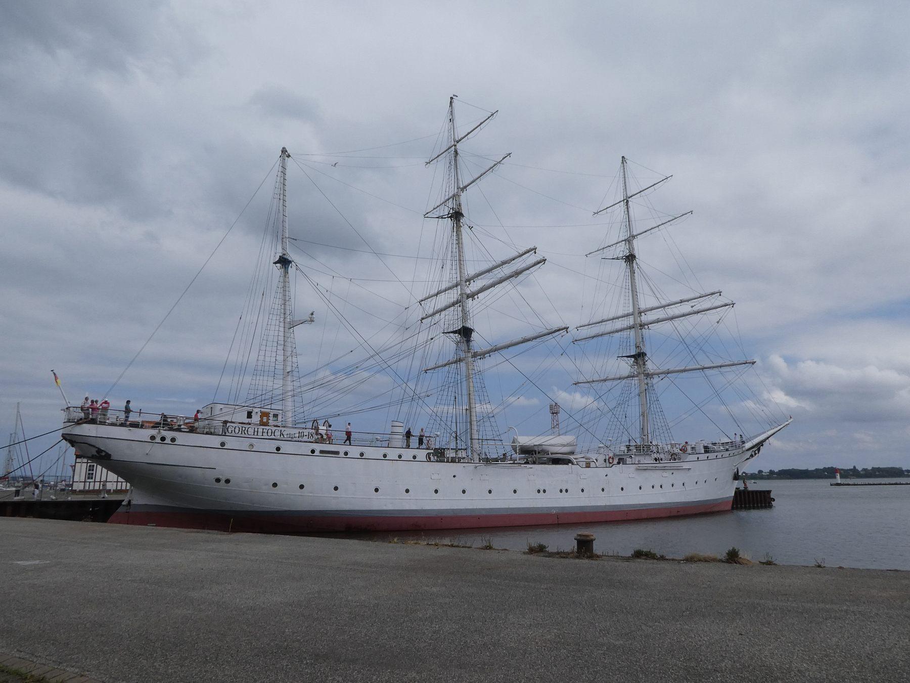 バルト海の船