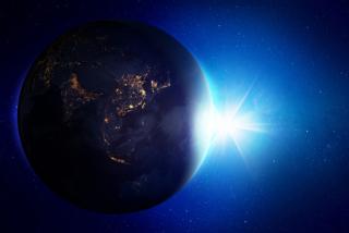 地球と宇宙の写真