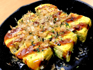 お好み焼きより低糖質!野菜も食べられる「お好み風卵焼き」#今日の作り置き