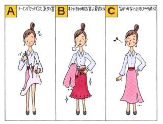【心理テスト】服が破けてしまいました。あなたはどうする?