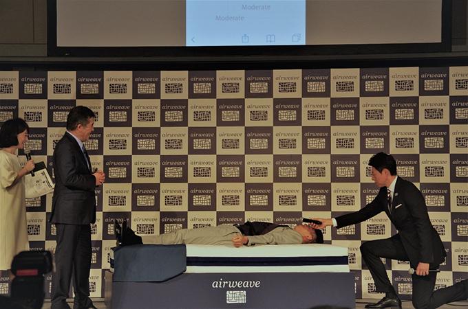 錦織選手、松岡修造さん、会長の写真