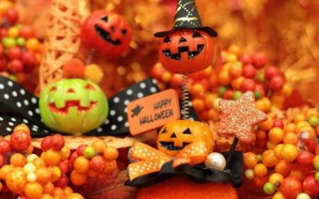 かぼちゃのお菓子などが人気のハロウィン