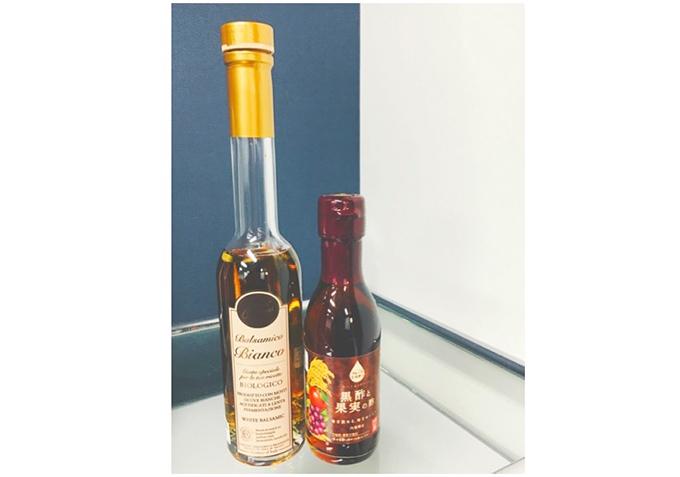 黒酢やワインビネガー
