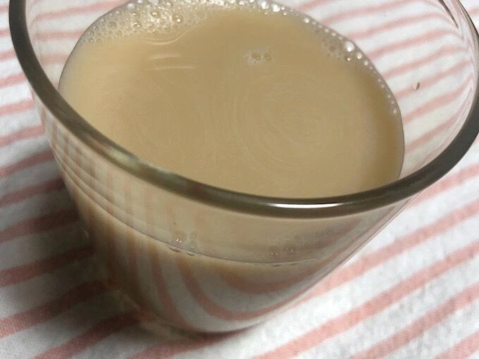 豆乳×ウーロン茶