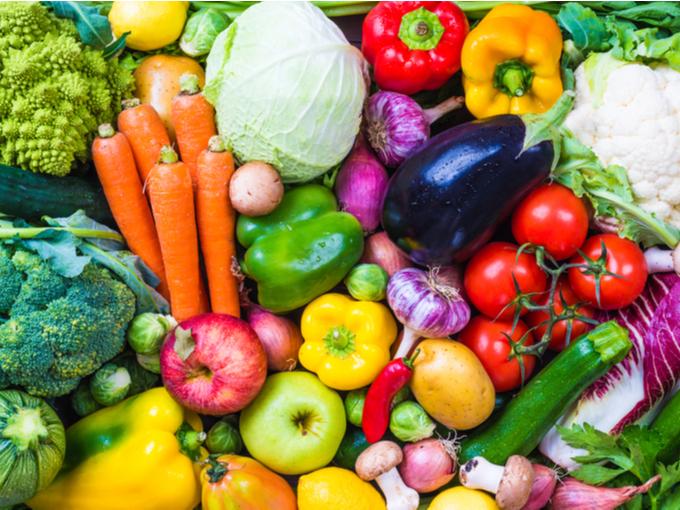 多種の野菜