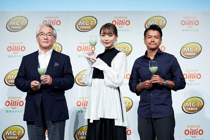 内田さん、加藤シェフ、オイリオの方