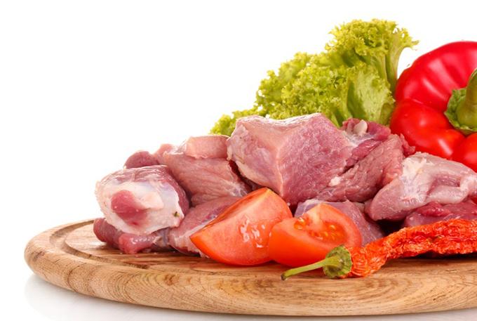 肉と野菜画像