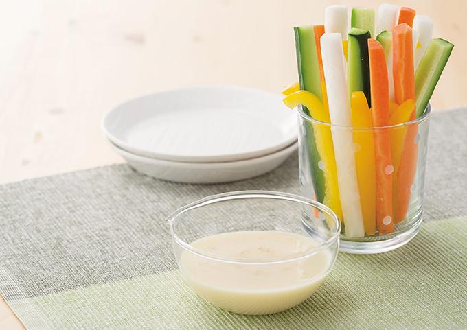 豆乳ヨーグルトドレッシング