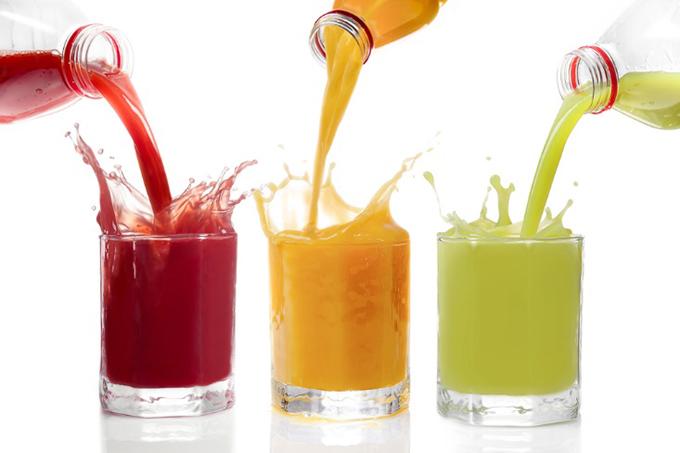 フルーツジュースの画像