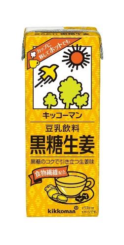 キッコーマン 豆乳飲料 黒糖生姜画像