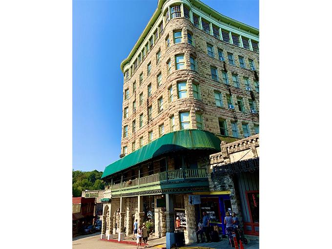 ユーレカスプリングスのベイスン・パークホテル
