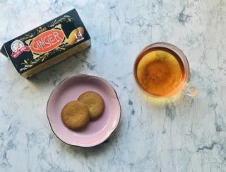 寒い日のティータイムにぴったり♡ 人気の仏紅茶ブランドから「ジンジャービスケット」が登場