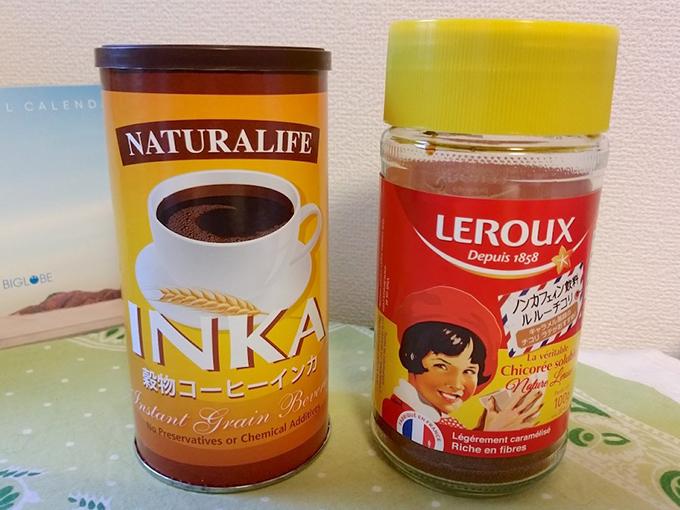 穀物コーヒー2種