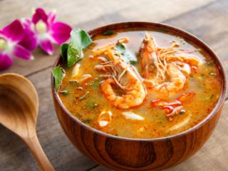 タイ料理のひとつ「トムヤンクン」