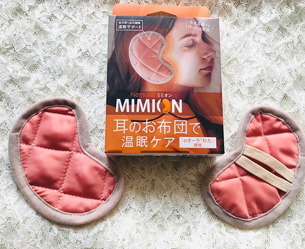 耳のお布団ミミオンのパッケージと中身
