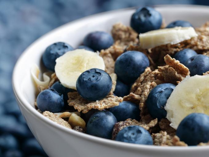 食物繊維などの栄養素がバランスよく含まれているグラノーラ