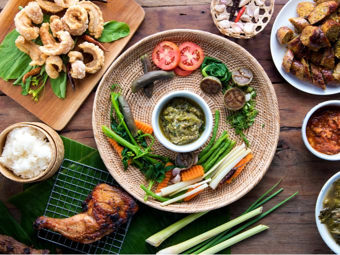 胃腸を強化するのに役立つ東南アジア料理