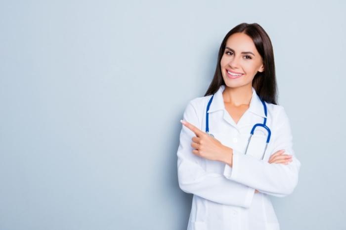 女性の医師が解説します、というイメージ
