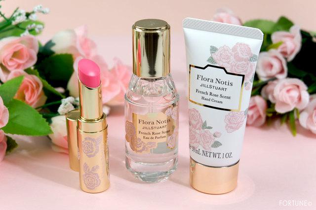 フローラノーティス ジルスチュアートの大人気<フレンチローズの香り>が限定デザインで1/24登場!