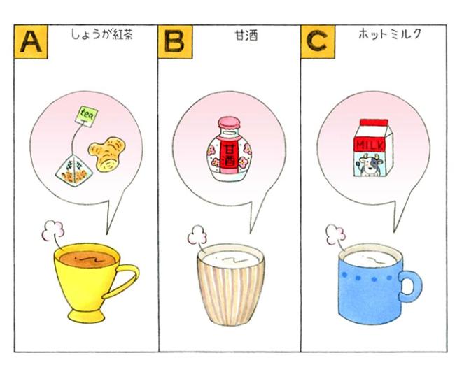 飲みもののイラスト