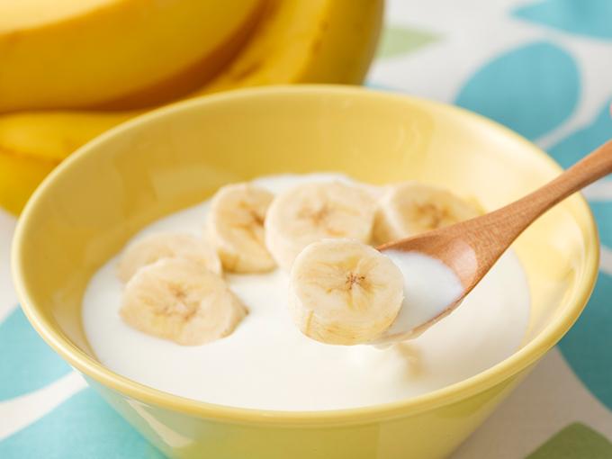 バナナヨーグルト