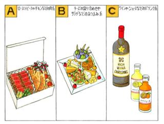 【心理テスト】料理持ち寄りのパーティーにあなたが持っていくのは?