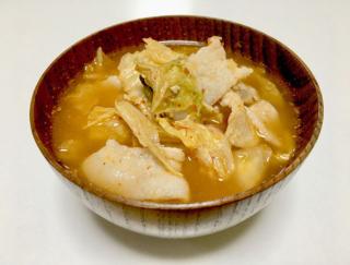 カンタンスープで代謝アップ!「うま辛キムチスープ」 #今日の作り置き