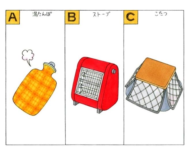 暖房器具のイラスト