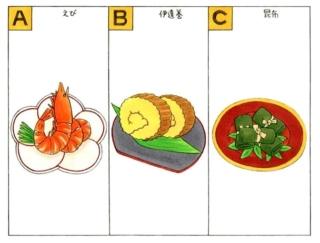 【心理テスト】もし自分をおせち料理の具材に例えるとしたら?