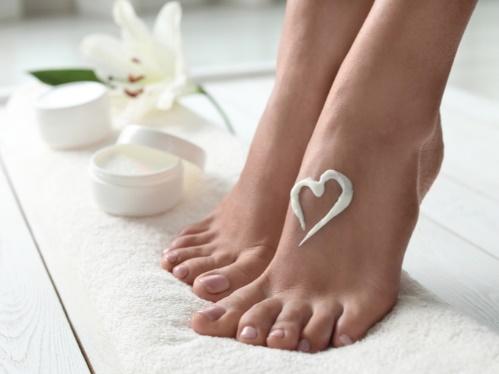 きれいな爪と足