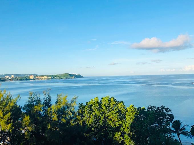 グアムの海景色