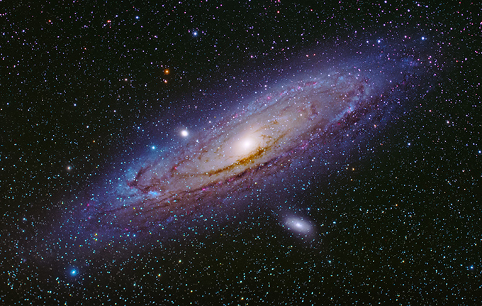 銀河系の写真