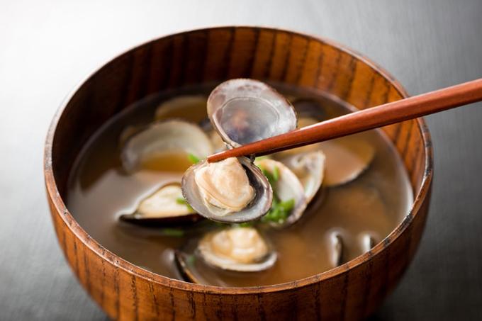 しじみの味噌汁の画像