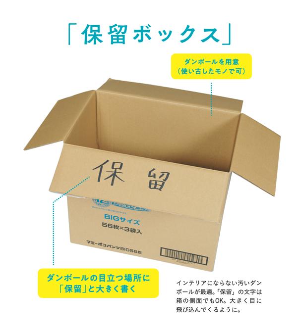 「保留ボックス」の作り方