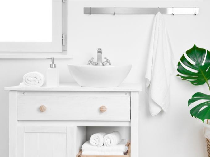 キレイに整理されている洗面所
