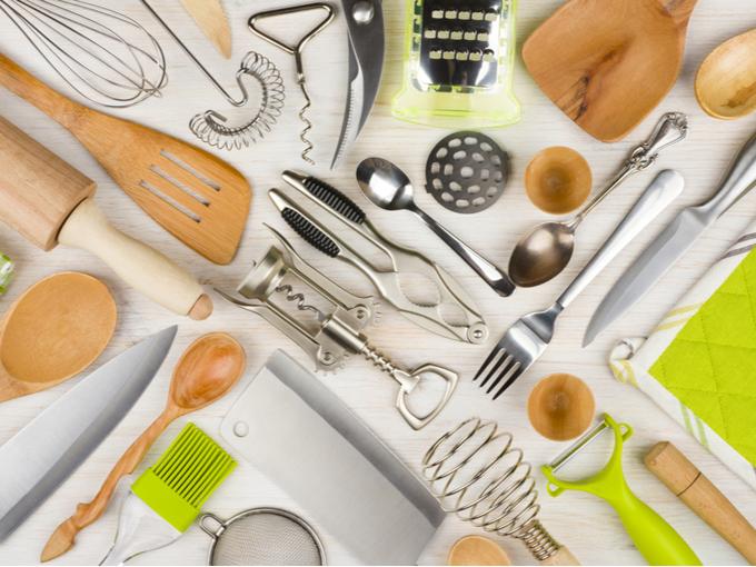 料理器具やカトラリー