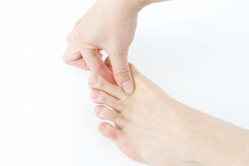 足指ひらきマッサージ