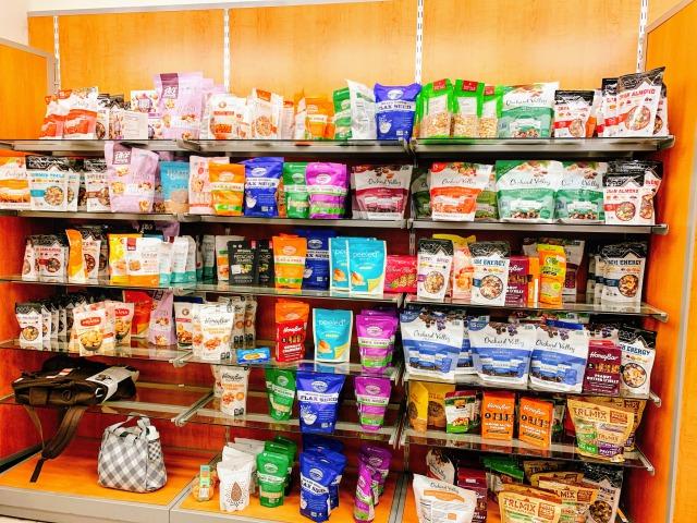 棚に並ぶスーパーフード