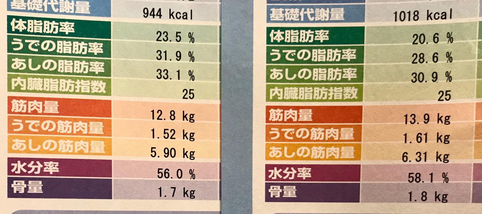 計測結果の比較