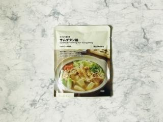 手づくり鍋の素 サムゲタン鍋のパッケージ