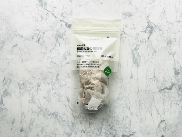 国産大豆の黒豆茶