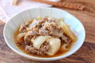 洋風肉豆腐