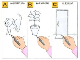 【心理テスト】家の絵をかきました。あなたが最後に書くアイテムは?